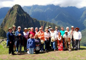 Sacred Mystical Journeys - Peru Group Photo