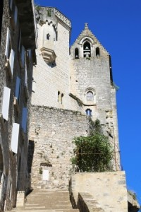 Episcopal city of Rocamadour, France
