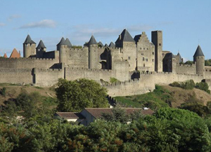 Carcassonne, Cathar fortress in France