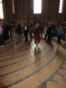 Chartres Labyrinth, Sacred Tour of France