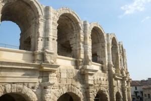 Les Arenes, the Roman Amphitheatre