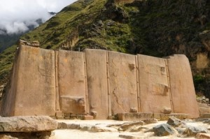 Peru, Ollantaytambo - Inca fortress in the sacred valley in the Peruvian Andes - Sacred Tour to Peru & Bolivia