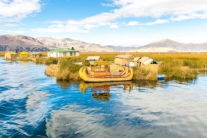 Titicaca,Peru,Puno,Uros,South America,Floating Islands