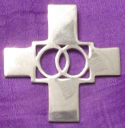Aquarian Cross Pendant