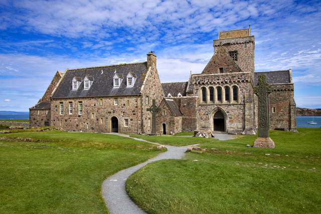 Iona Abbey in Scotland