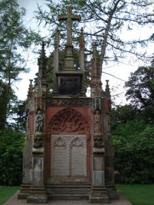 Tomb outside Rosslyn Chapel in Scotland - Scotland sacred sites tour | Sacred Mystical Journeys