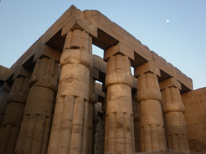 Luxor Amun Temple in Egypt