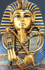 King Tut at the Imhotep Musem in Egypt
