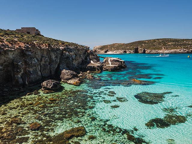 The beautiful Comino - Sacred Malta Tours
