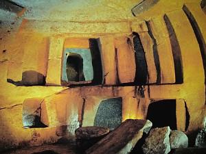 Hal Saflieni Hypogeum underground temple in Malta
