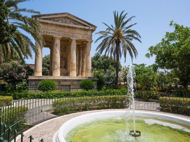 Lower Barrakka Gardens in Valletta, Malta | Sacred Tour of Malta and Sicily