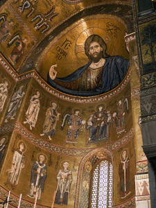 Monreale Cathedral Christ Pantocrator