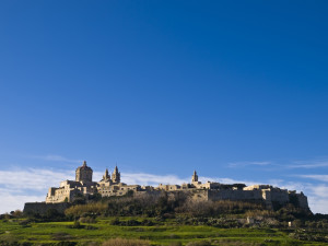 "Mdina, ""the silent city"", in Malta"