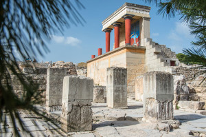 Knossos Minoan Palace on the Isle of Crete