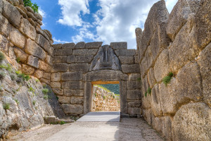 Lion Gate in Mycenae, Greece - Sacred Tour of Greece