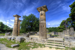 Olympia Temples