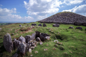 Cairns at Loughcrew Passage Tomb Site in Ireland - Ireland Sacred Sites Tour