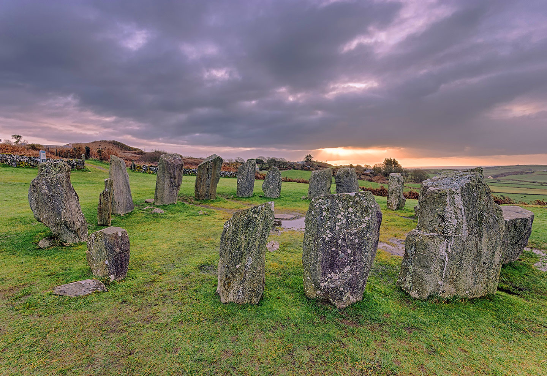 Drombeg Stone Circle in Cork, Ireland