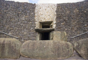 Stones at Newgrange - Sacred Tour of Celtic Ireland