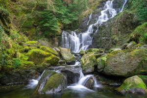 Torc Waterfall in Killarney National Park Ireland - Ireland Sacred Sites Tour