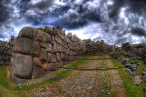 Walls of Saksaywaman near Cusco, Peru | Peru sacred sites
