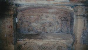 Catacombs in Alexandria, Egypt