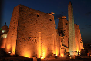 Night View of the Illuminated Temple of Luxor in Egypt | Egypt Sacred Tour