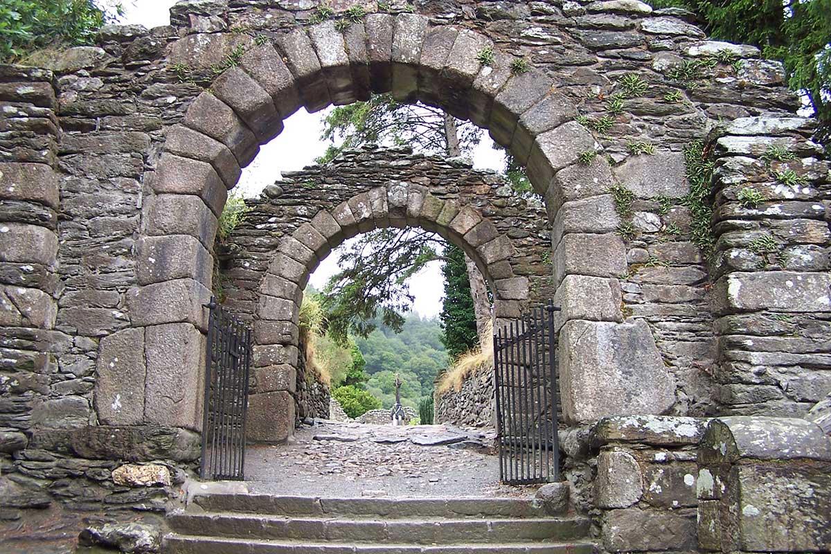 Travel Sacred Sites Ireland - Glendalough Gateway
