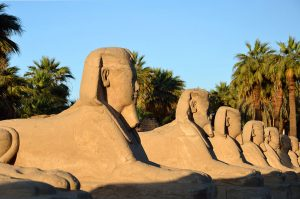 Travel Sacred Egypt: Temple of Luxor and an Avenue of Sphinxes