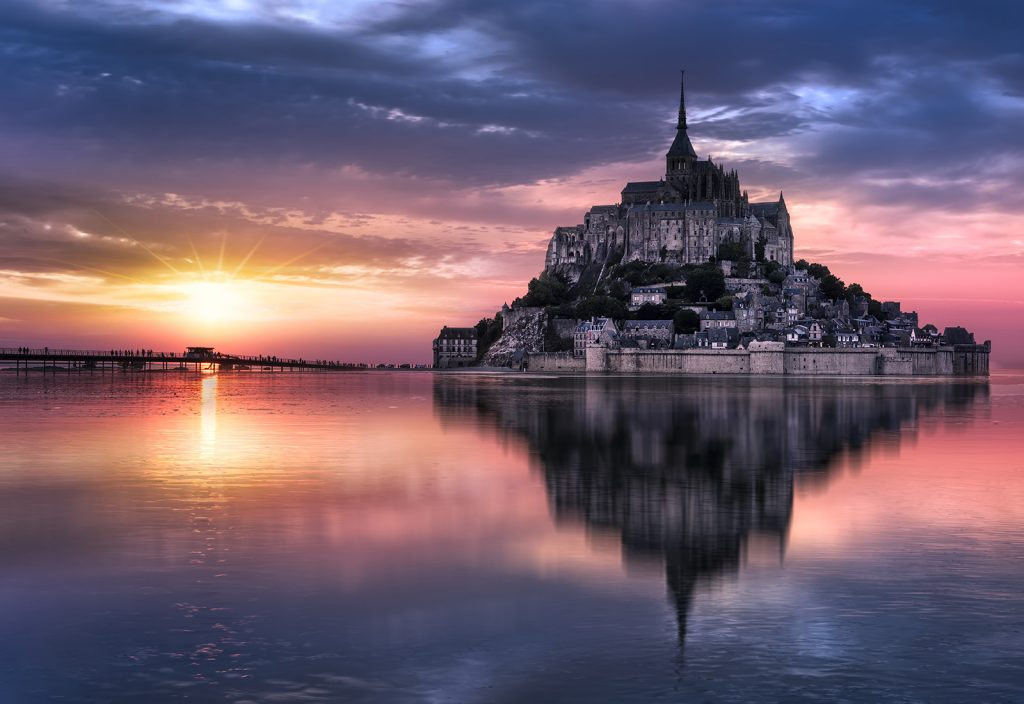 Mont Saint-Michel - Sacred Tour of France