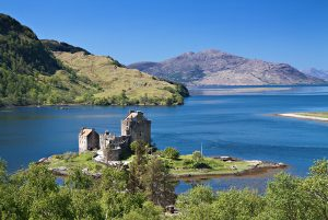 Eilean Donan Castle in Scotland - Scotland sacred sites tour | Sacred Mystical Journeys