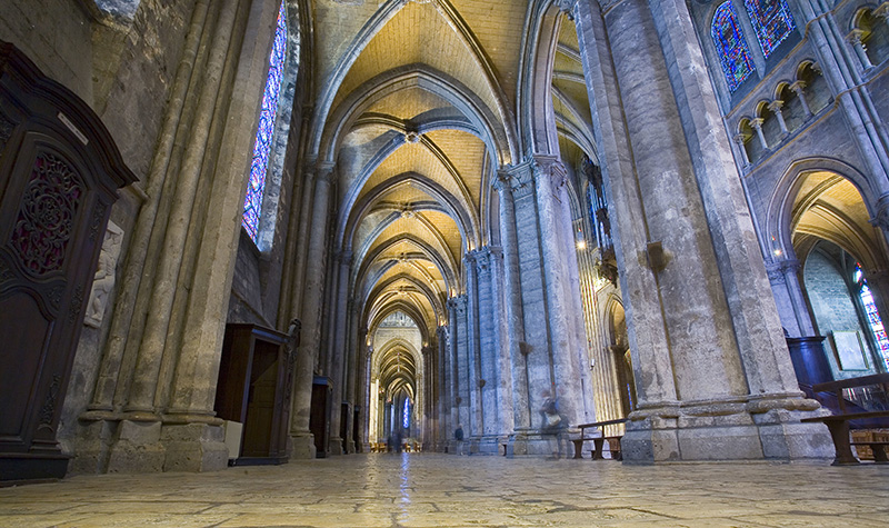 Chartres Cathedral Interior - France Sacred Sites & Ascension Tour