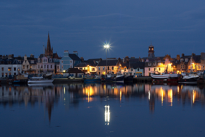 Stornoway at night