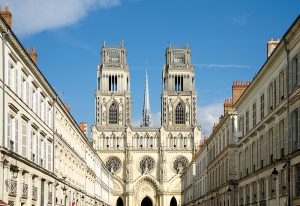 Cathedral of Sainte-Croix in Orleans, France