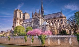 Notre Dame Cathedral in Orleans, France