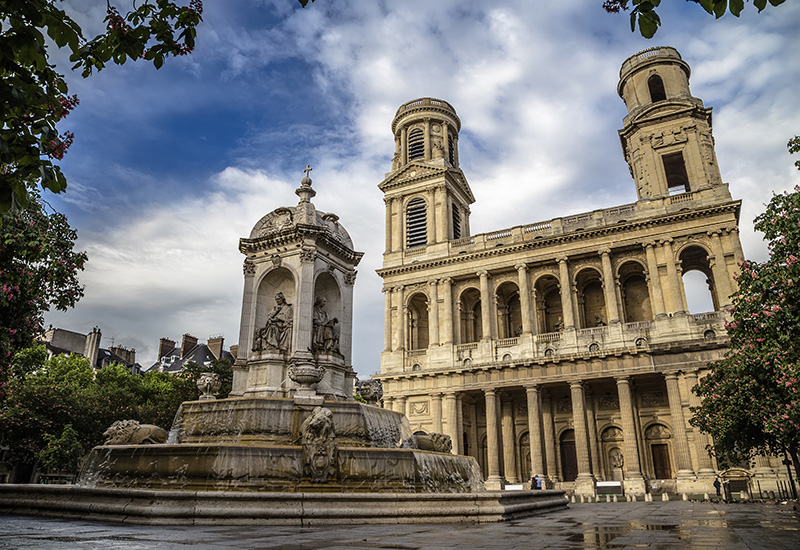 Church of Saint Sulpice - France Sacred Sites & Ascension Tour