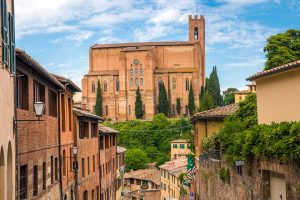 Visit the Basilica of San Domenico in Siena on a Sacred Tour of Italy