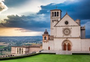 St. Francis Basilica in Assisi, Italy