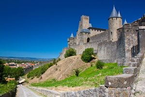 Castle in Carcassonne France - Sacred Tour of France