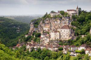 The cliffside village of Rocamadour in France - France Sacred Sites & Ascension Tour