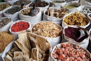 Spices in La Paz Market, Bolivia - Sacred Tour of Peru & Bolivia | Sacred Mystical Journeys