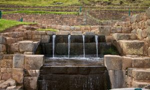 Water distribution system in Tipón, Peru - Sacred Tour of Peru