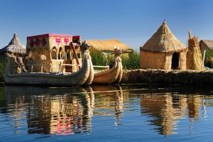Uros Floating Islands in Peru - Sacred Tour of Peru & Bolivia