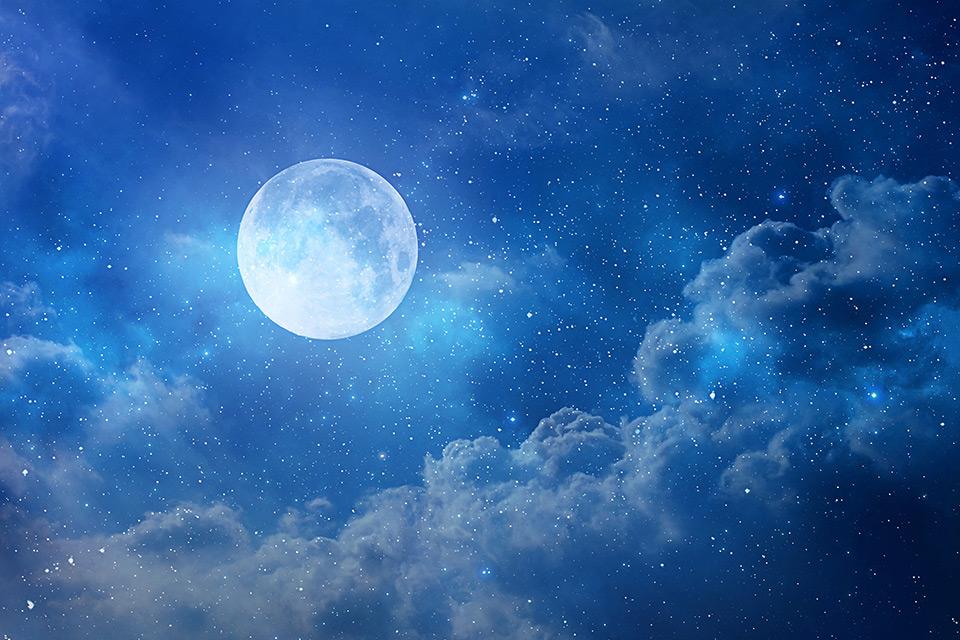Spring Equinox Blue Full Moon Meditation | Sacred Mystical Journeys