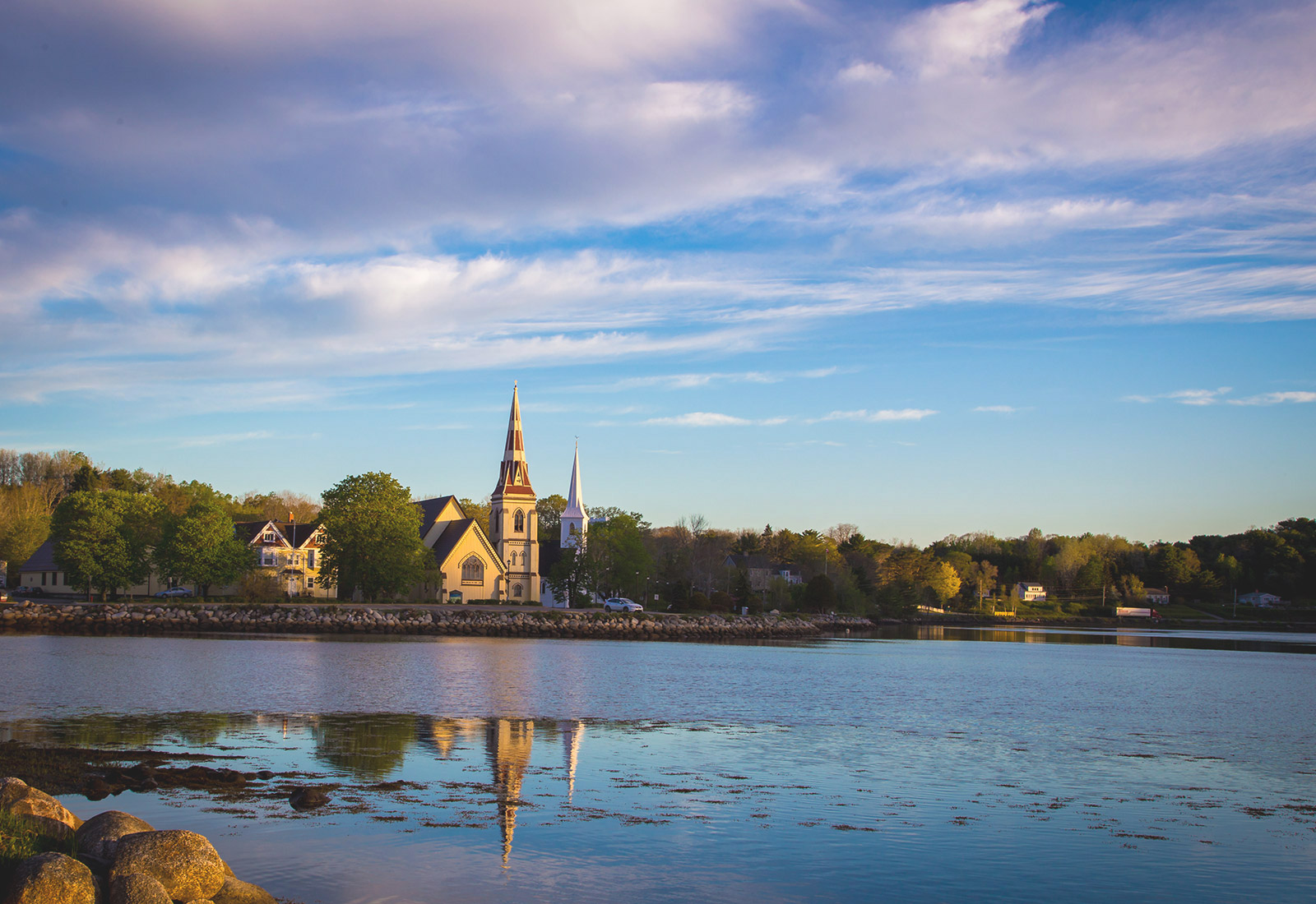 Mahone Bay, Nova Scotia, Canada | Nova Scotia Spiritual Retreat - Sacred Mystical Journeys