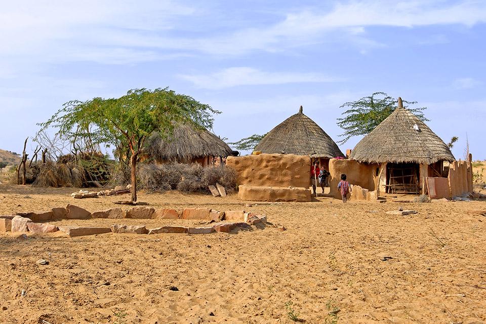 Bishnoi Desert Village in Rural Rajasthan, India - Spiritual Journey to India