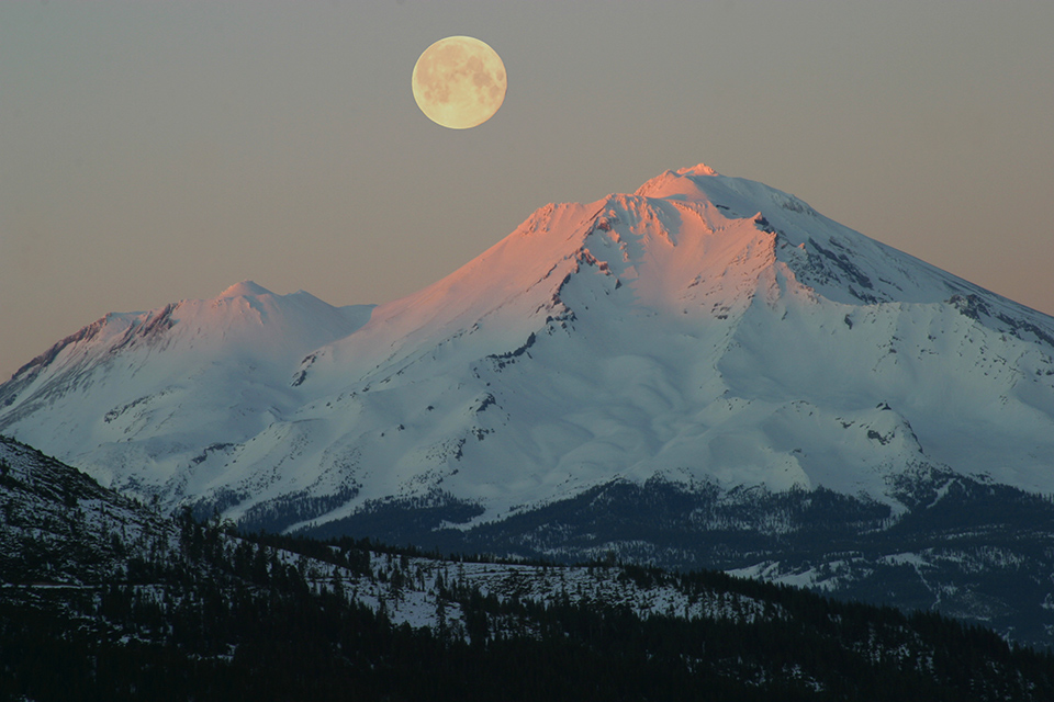 Full Moon Meditation from Mount Shasta | Sacred Mystical Journeys