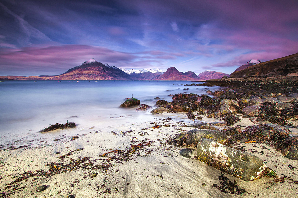 Elgol Village on the Isle of Skye - Joan Clark's Sacred Pilgrimage to Scotland