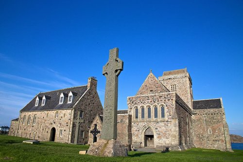 Iona Abbey of Scotland