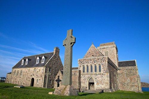Iona Abbey of Scotland